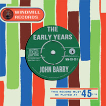 John Barry - The Early years CD