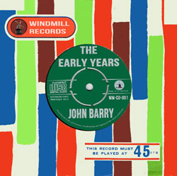 New CD: John Barry The Early Years