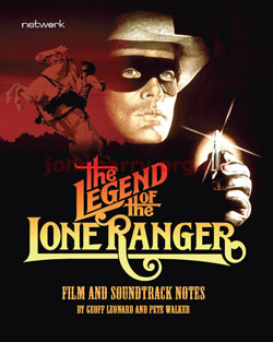 The Legend of the Lone Rangger - DVD - Blu Ray