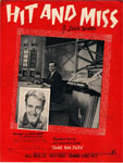 Hit and Miss - John Barry - sheet music