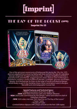 The Day of The Locust Blu-ray