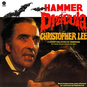 Hammer - Dracula - narrator Christopher Lee - LP
